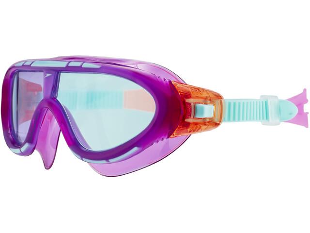 speedo Biofuse Rift Lunettes de protection Enfant, orchid/soft coral/peppermint